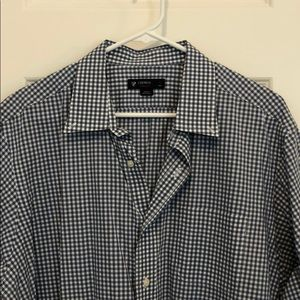 Cremieux checkered button down.